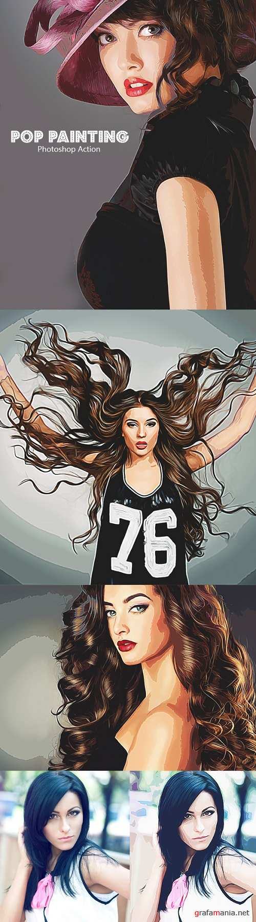 Pop Painting - Photoshop Action 20658529