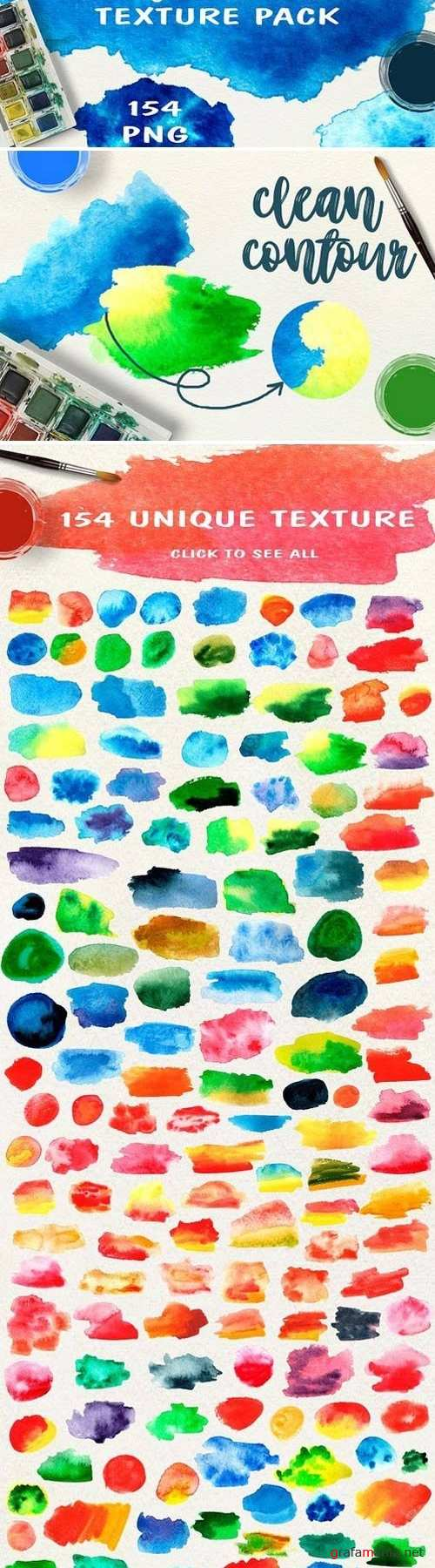 Watercolor Texture Pack 1776141