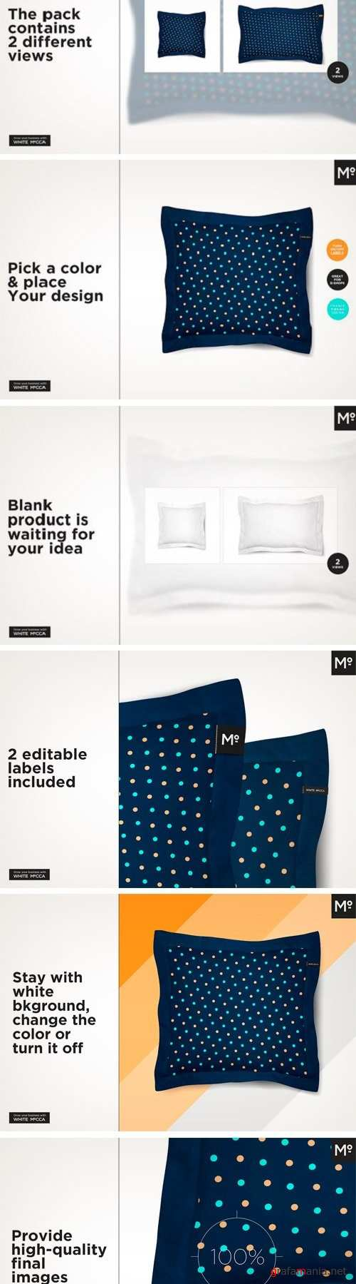 2 Types Pillow Mock-up 1904680