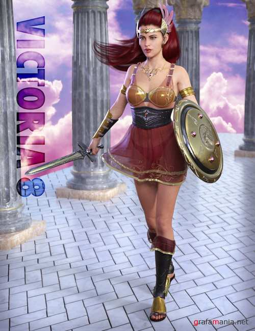 Holy Quest Outfit for Genesis 8 Female(s)