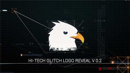 Hi-Tech Glitch Logo Reveal - After Effects Project (Videohive)