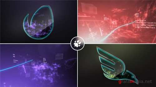 Digital Vortex Logo - After Effects Project (Videohive)