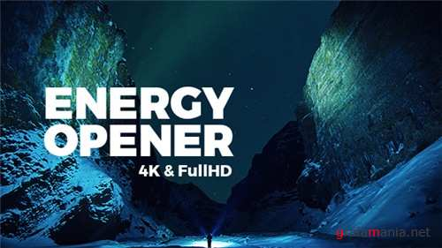 Energy Opener - After Effects Project (Videohive)