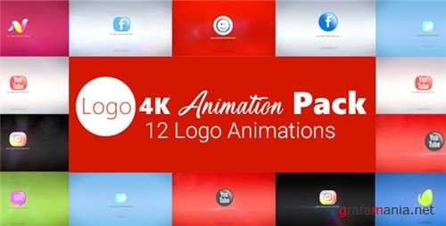 Logo 4K Animation Pack - After Effects Project (Videohive)