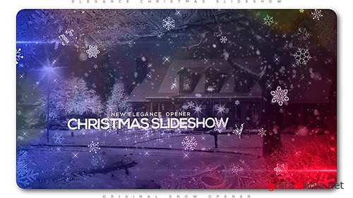 Elegant Christmas Slideshow - Project for After Effects (Videohive)