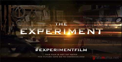 Cinematic Trailer Experiment - After Effects Project (Videohive)