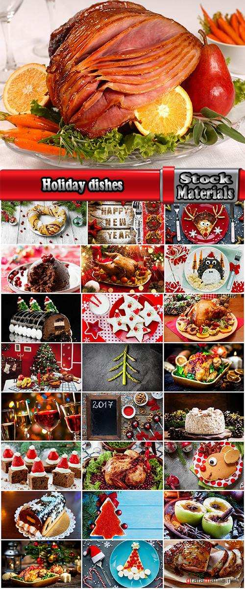 Holiday dishes chicken salad caviar sweet new year 25 HQ Jpeg