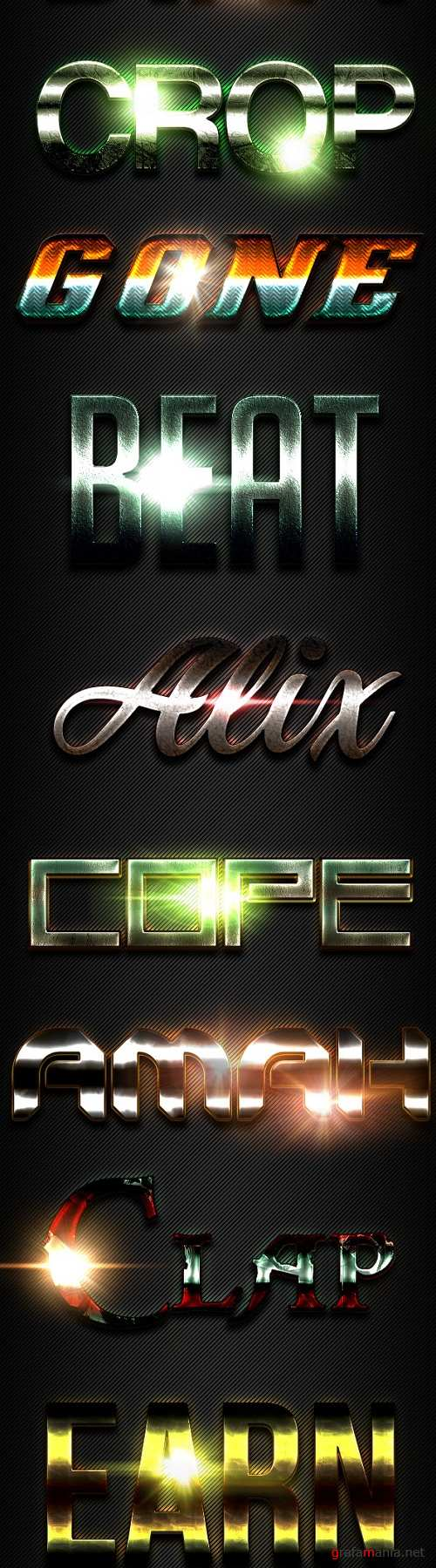 10 Text Effects Vol. 15 - 20903278