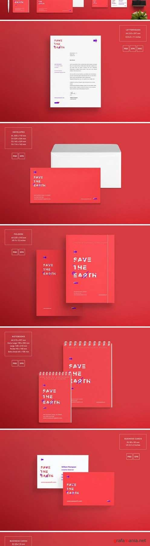 Branding Pack | Save the Earth 1577200