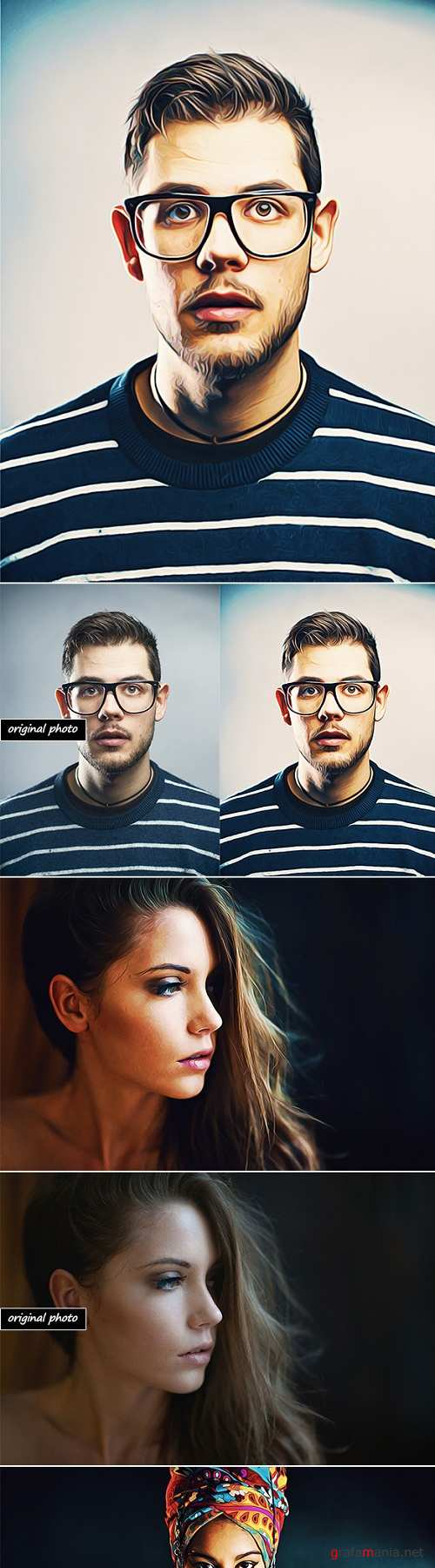 Real Paint-Photoshop Action 20934007