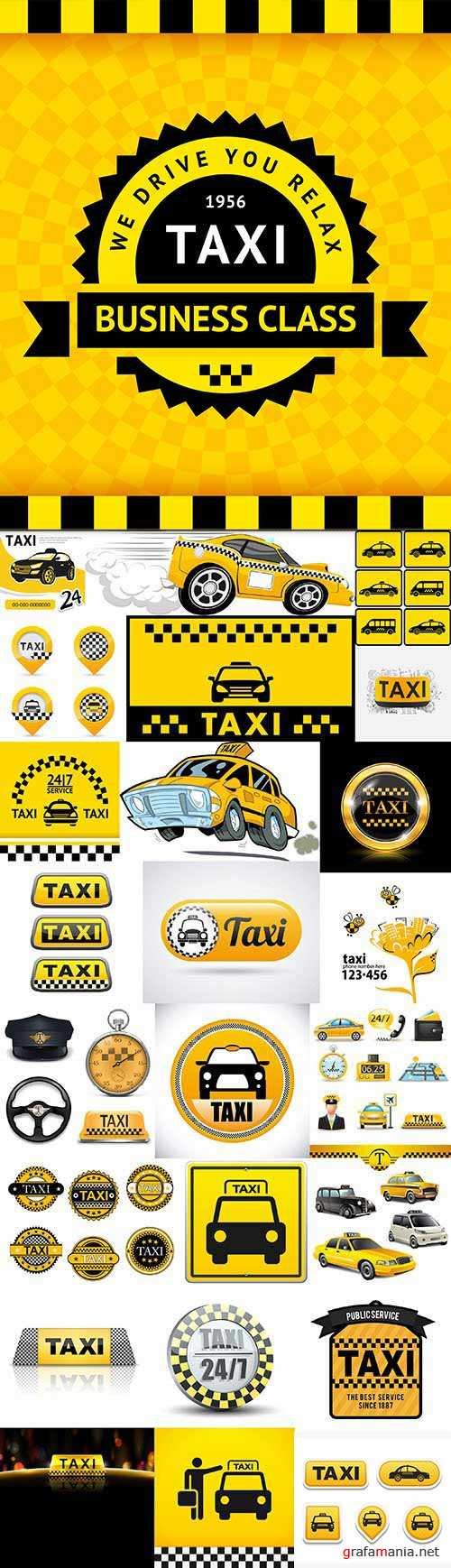 Taxi Collection 25xEPS