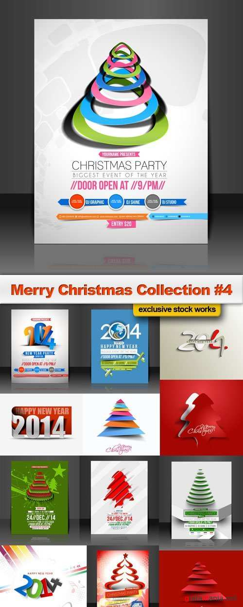 Merry Christmas Collection #4, 25xEPS