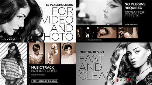 Black Fashion Promo - After Effects Project (Videohive)