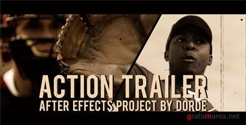 Action Trailer - After Effects Project (Videohive)