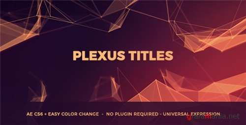 Plexus Titles - After Effects Project (Videohive)