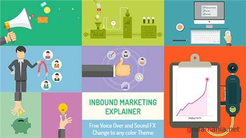 Inbound Marketing Explainer - After Effects Project (Videohive)
