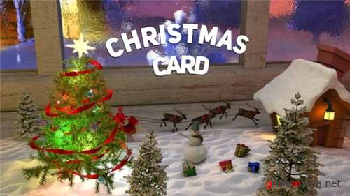 Christmas Card 20938736 - After Effects Project (Videohive)