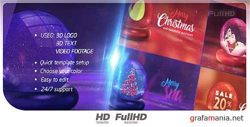 Christmas Opener 20916733 - After Effects Project (Videohive)