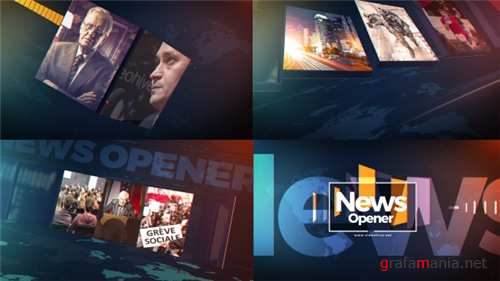 News Opener - After Effects Project (Videohive)