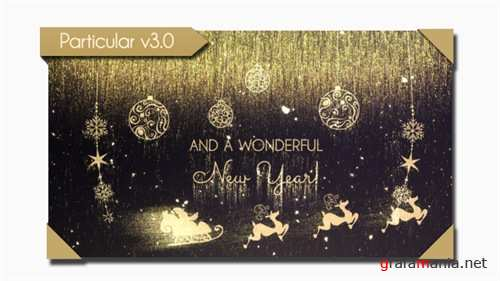 Golden Christmas Wishes - After Effects Project (Videohive)