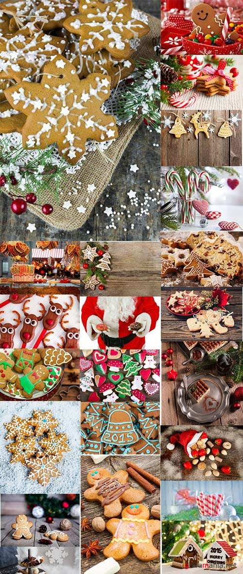 Christmas And New Year Candies, 25xJPG