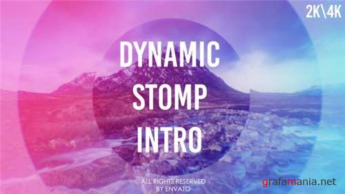 Dynamic Stomp Intro - After Effects Project (Videohive)