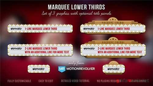 Marquee Lower Thirds - After Effects Project (Videohive)