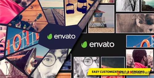 Photo Mosaic Logo - After Effects Project (Videohive)