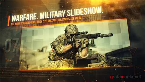 Warfare. Military Slideshow. - After Effects Project (Videohive)