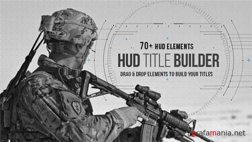 HUD Title Builder - After Effects Project (Videohive)
