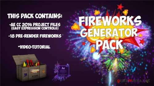 Fireworks 21016680 - After Effects Project (Videohive)