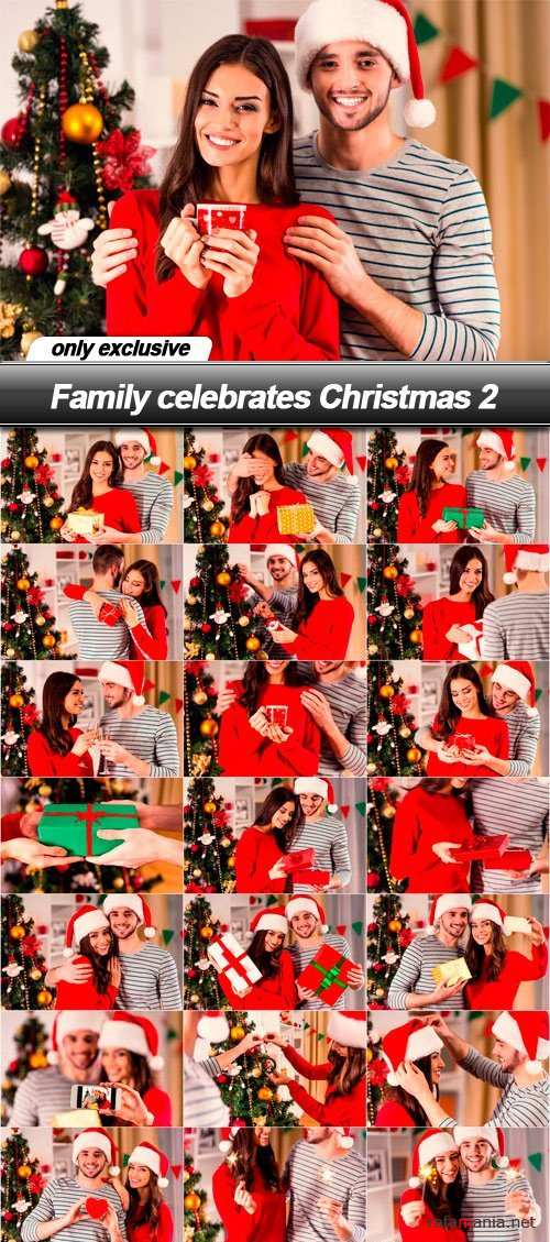 Family celebrates Christmas 2 - 25 UHQ JPEG