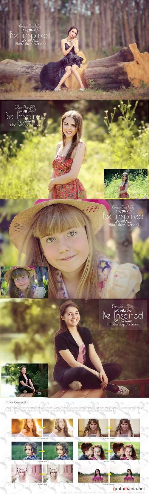 Be Inspired Actions for Photoshop 2160512