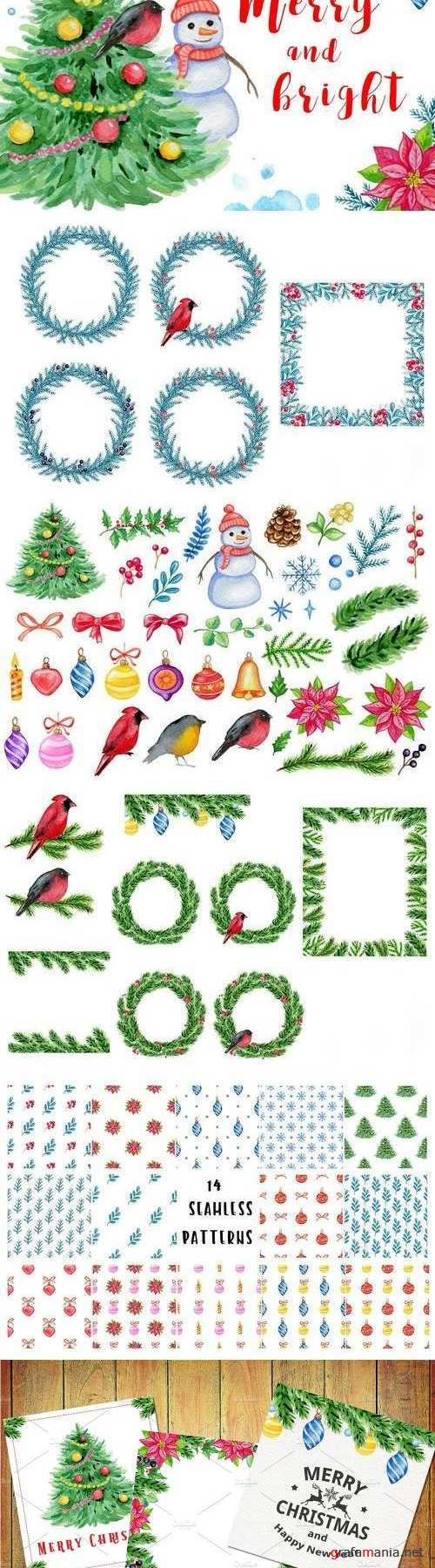 Merry and bright design kit - 2103144