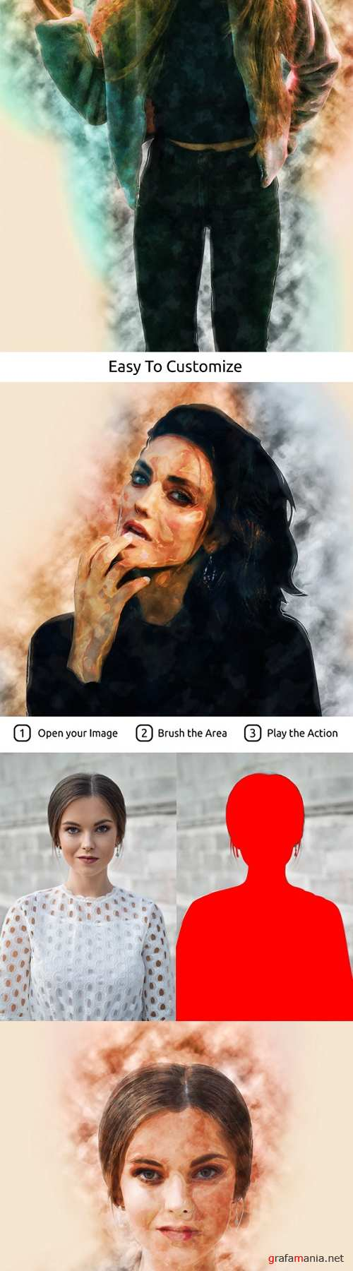 Traditinal Painting Photoshop Action 20988239