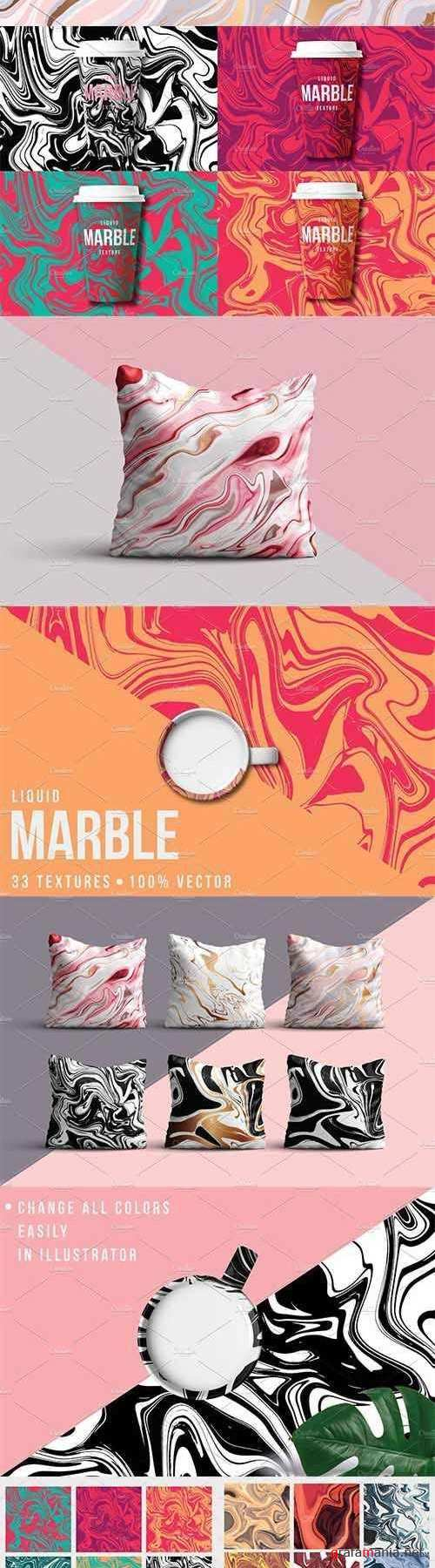 33 Marble Textures - 100% Vector - 2039711