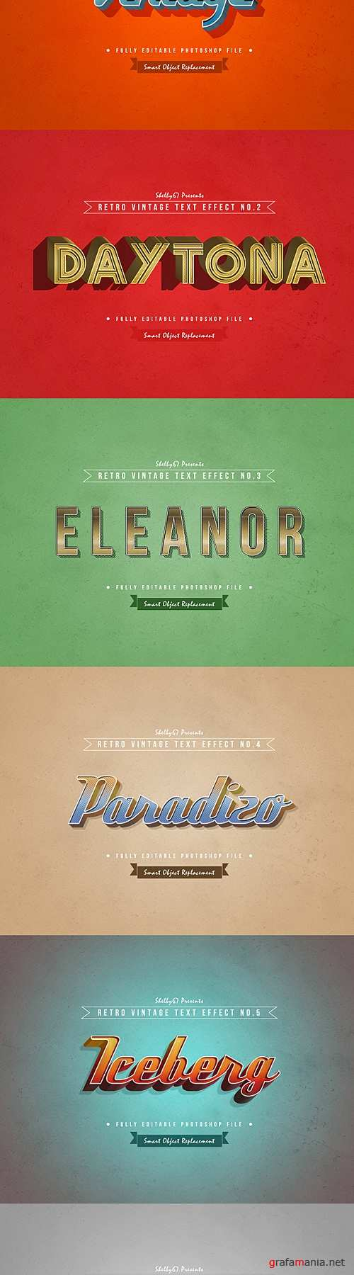 Retro Vintage Text Effects 21142668
