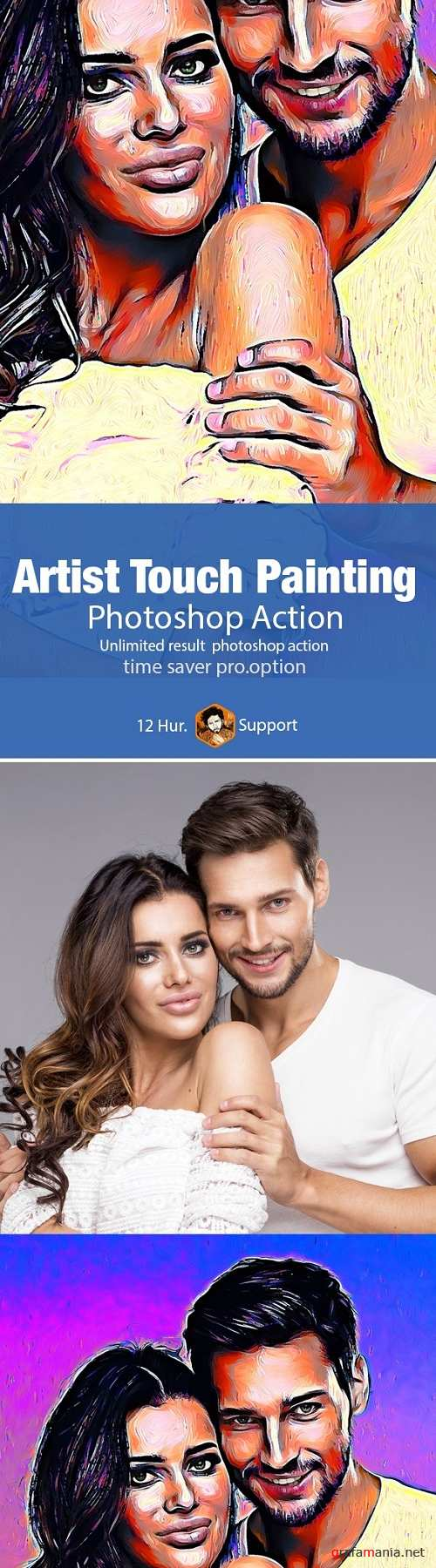 Artist Touch Painting - 19996566