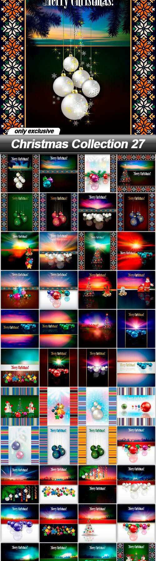 Christmas Collection 27 - 48 EPS