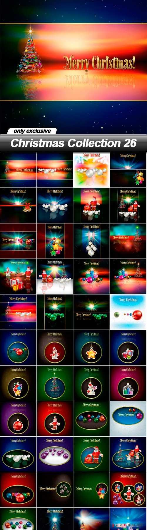 Christmas Collection 26 - 48 EPS