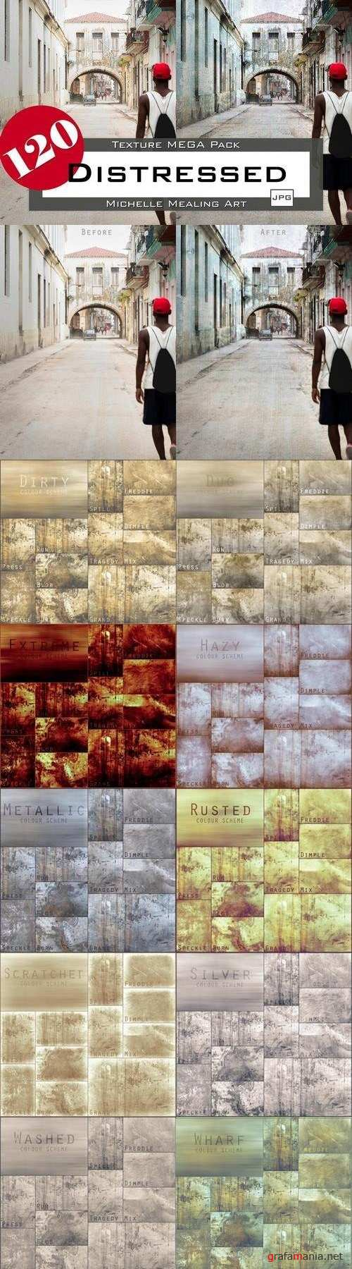 Distressed: 120 Texture MEGA Pack - 2058604