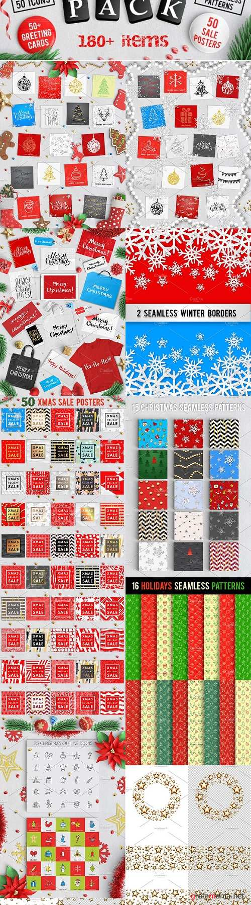 180+ Extremely Christmas Pack 2114623