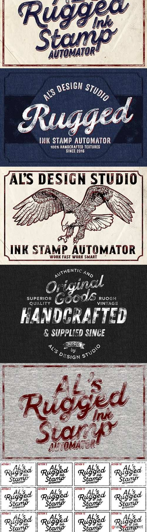 AL's Rugged Ink Stamp Automator 2128030