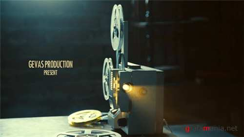 Vintage Memories Film Projector - After Effects Project (Videohive)