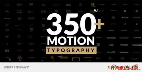 Motion Typography - After Effects Project (Videohive)