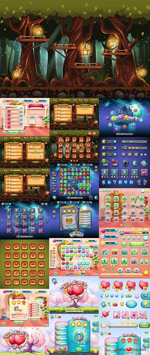Design Elements for Games 25xEPS
