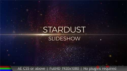 Slideshow Stardust - After Effects Project (Videohive)