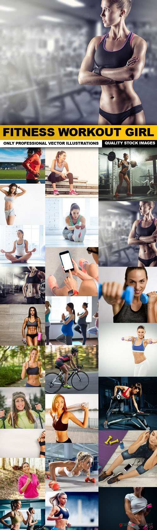 Fitness Workout Girl - 25 HQ Images