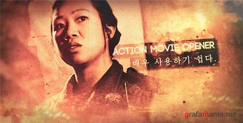 Action Movie Opener - After Effects Project (Videohive)