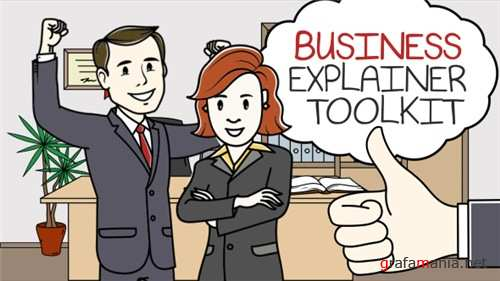 Business Explainer Toolkit - After Effects Project (Videohive)